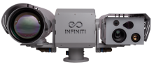 Infiniti's military-grade long-range thermal and visible surveillance camera system, the Vega.